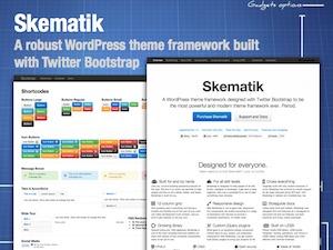 Skematik WordPress store theme