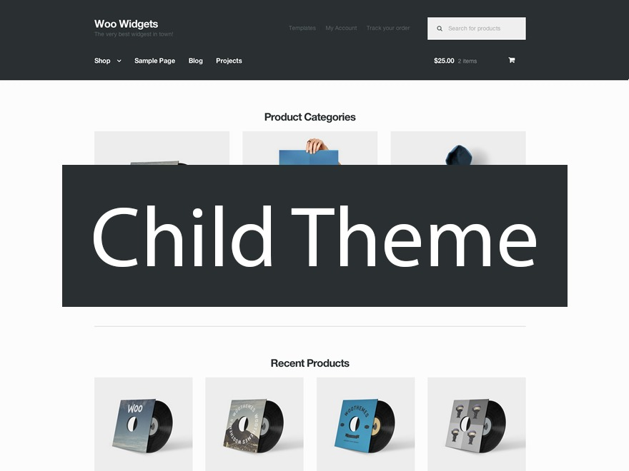 Storefront Child Theme WordPress shopping theme