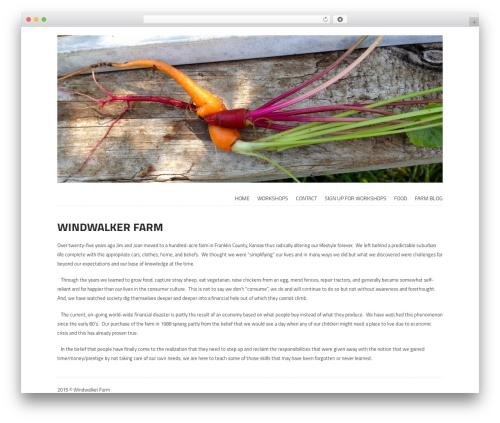 Storefront Paper WordPress shopping theme - windwalkerfarm.com