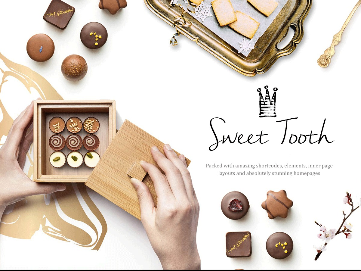 SweetTooth WordPress ecommerce template