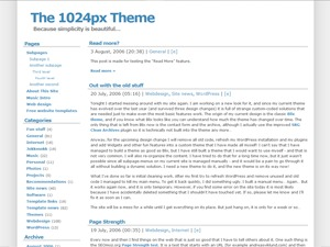 Template WordPress 1024px