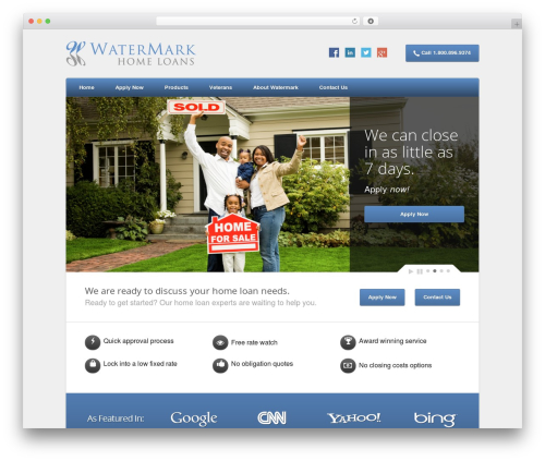 Template WordPress Nexus - watermarkcommercial.com