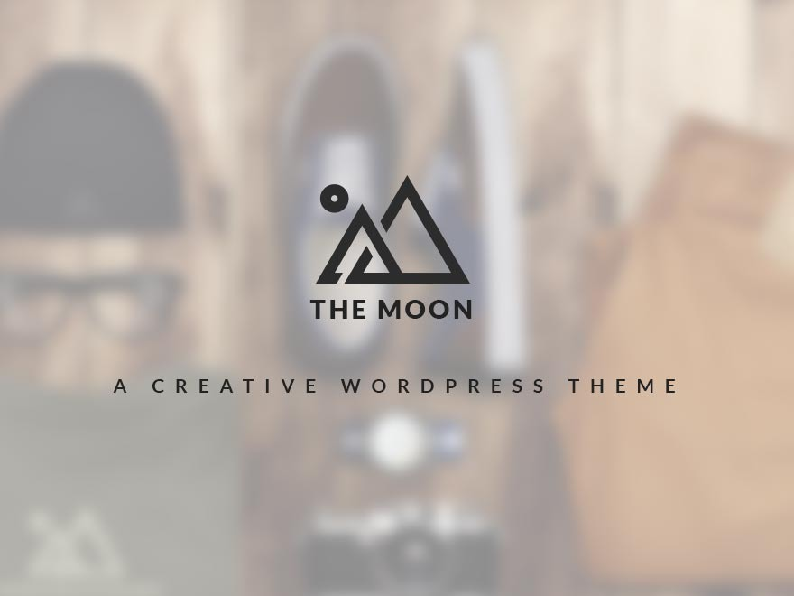 The Moon WordPress template