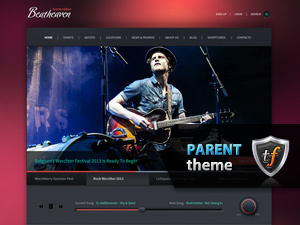 Theme WordPress Beatheaven Parent