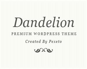 Theme WordPress Dandelion