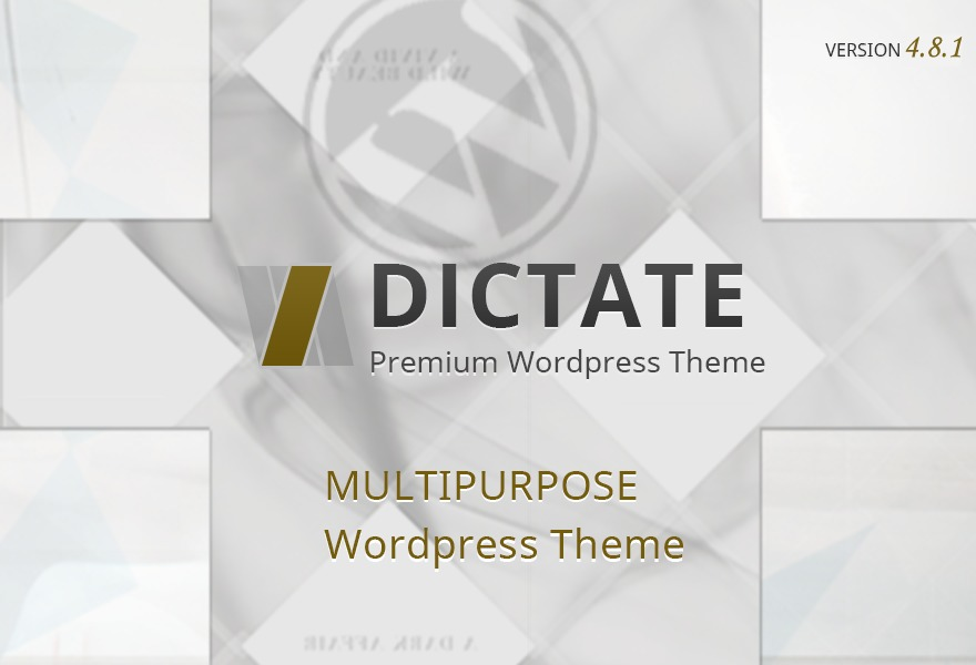 Theme WordPress Dictate