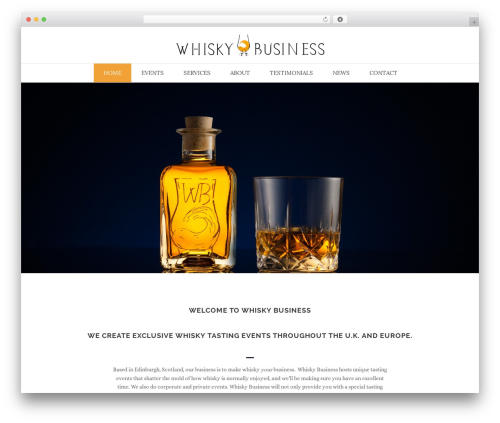 Theme WordPress Jupiter - whiskybusiness.scot/wp