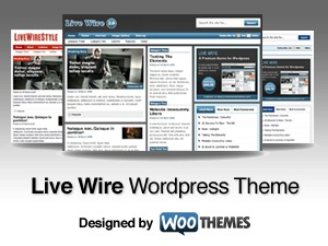 Theme WordPress Live Wire