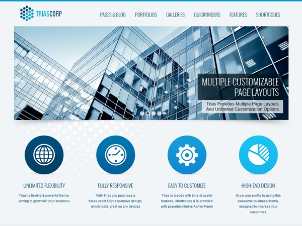 Trias theme WordPress