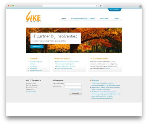 Twenty Ten template WordPress free - wke.eu