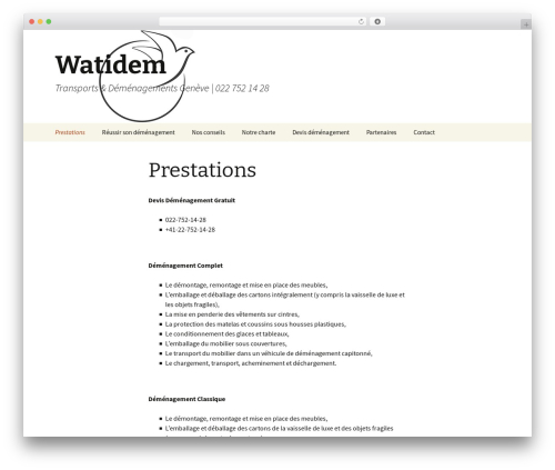 Twenty Thirteen free WordPress theme - watidem.com
