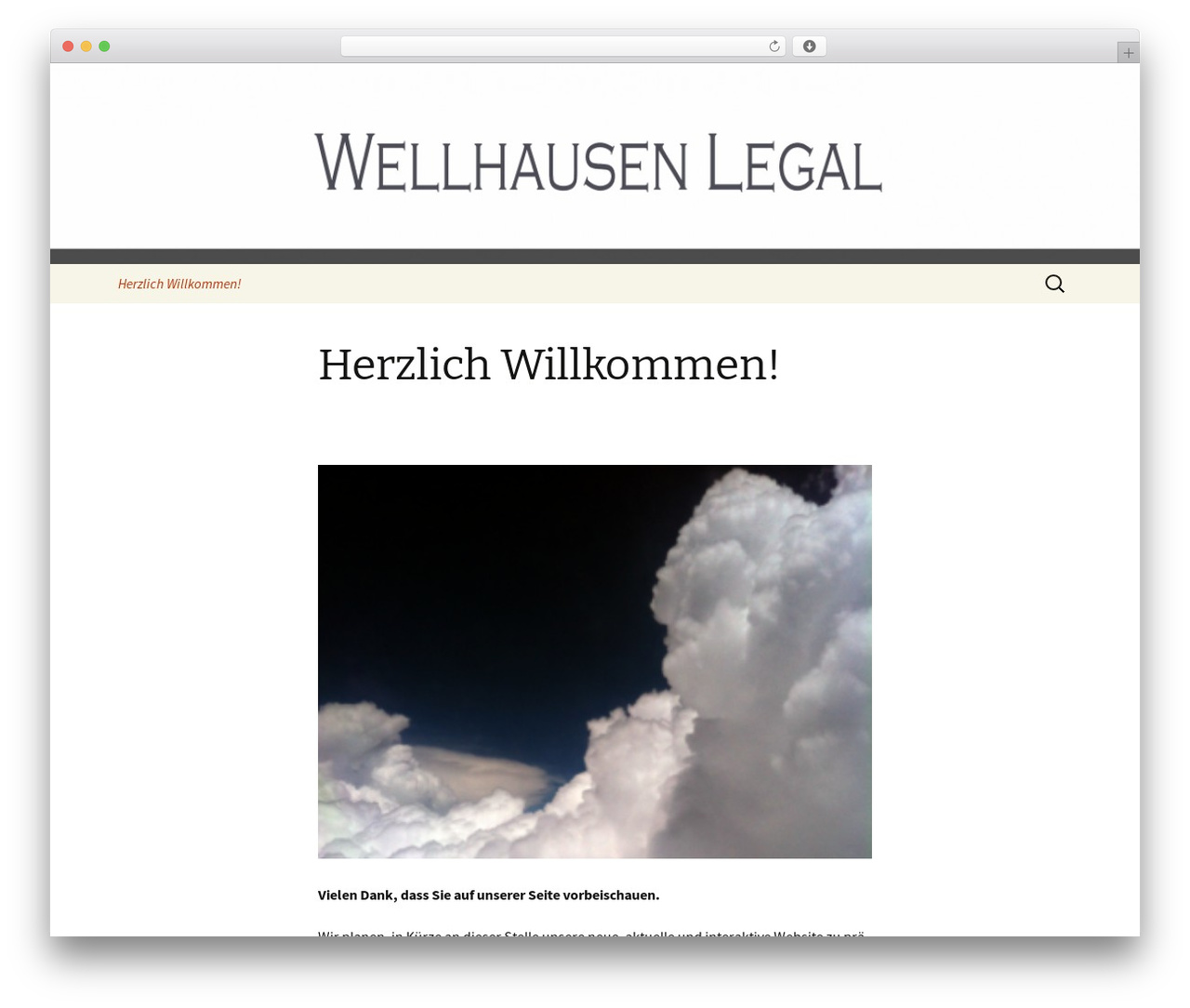 Twenty Thirteen WordPress template free - wellhausenlegal.com