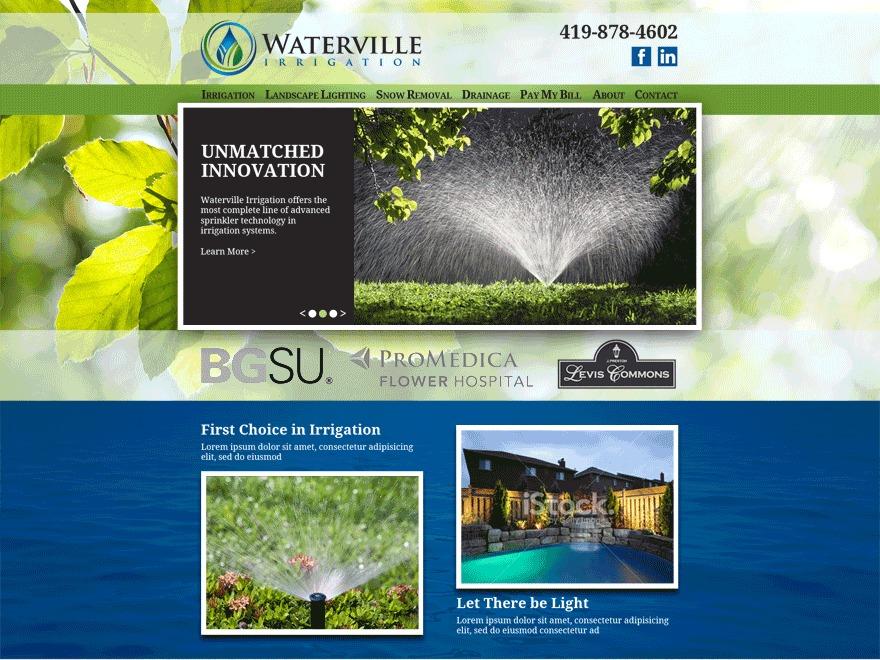 Water Ville premium WordPress theme