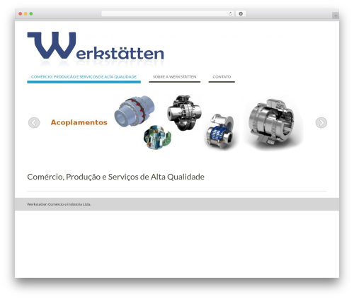 WEN Business theme WordPress free - werkstatten.com
