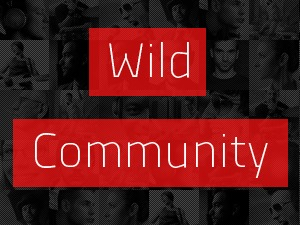 WildCommunity WordPress page template