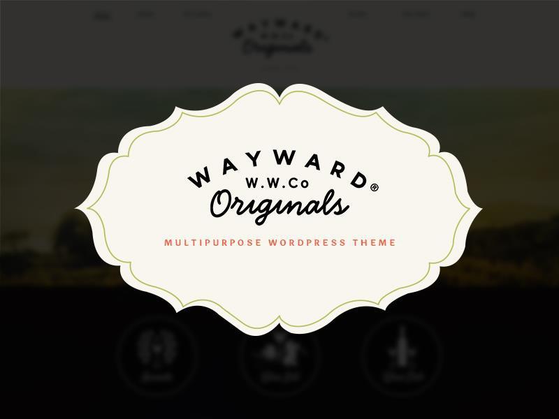 Wine template WordPress
