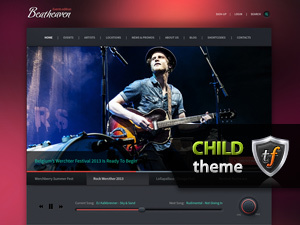 WordPress template Beatheaven Child