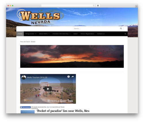 Free WordPress Connections Business Directory plugin - wellsnevada.com