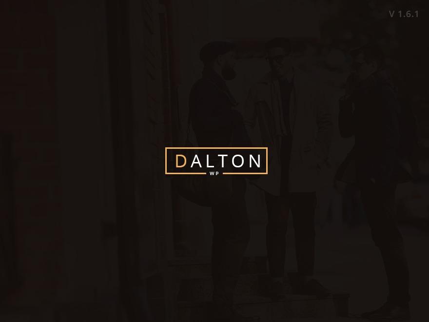 WordPress theme Dalton