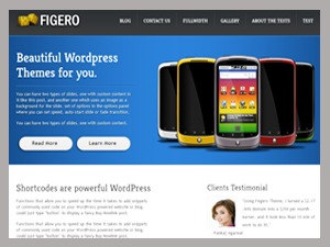 WordPress theme Figero  Pro Responsive Theme