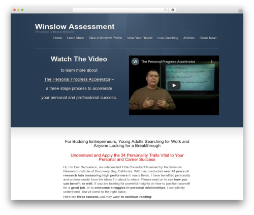 WordPress proplayer plugin - winslow-assessment.com