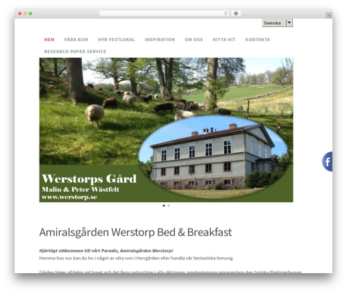WordPress theme Madison - werstorp.se