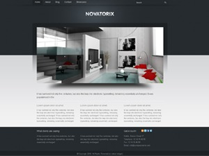 WordPress theme Novatorix
