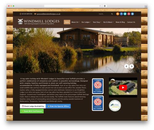 WordPress theme PurePress - windmilllodges.co.uk