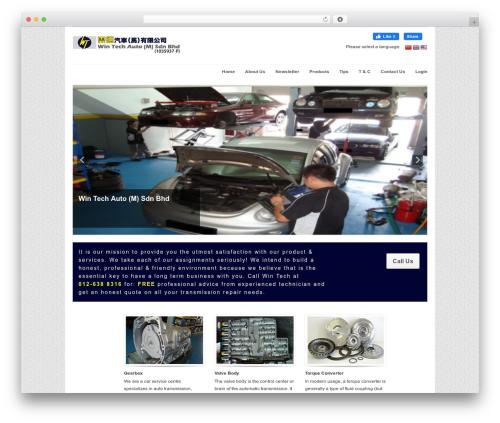 WordPress theme Workspace - wintechgroups.com