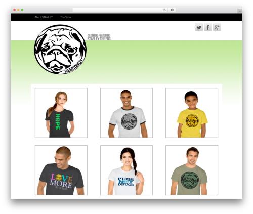 WordPress website template Neuro Pro 3 - wearstanley.com