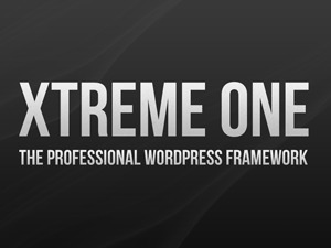 WordPress website template Xtreme One