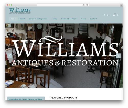WordPress cmssuperheroes plugin - williamsantiques.co.uk