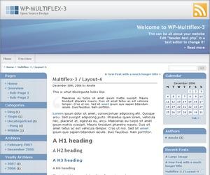 WP-Multiflex-3 WP template