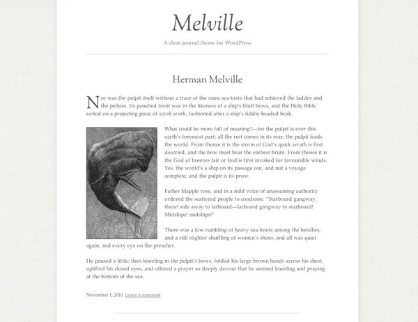 WP template Melville