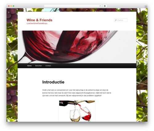 WP template Twenty Eleven - wineandfriends.nl