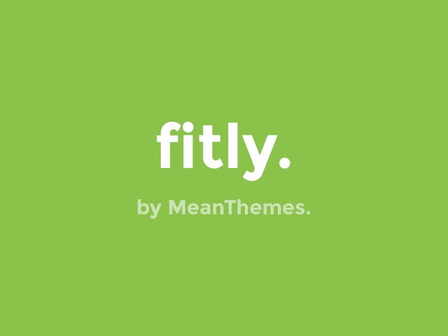WP theme Fitly