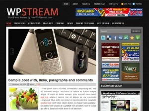 WpStream theme WordPress