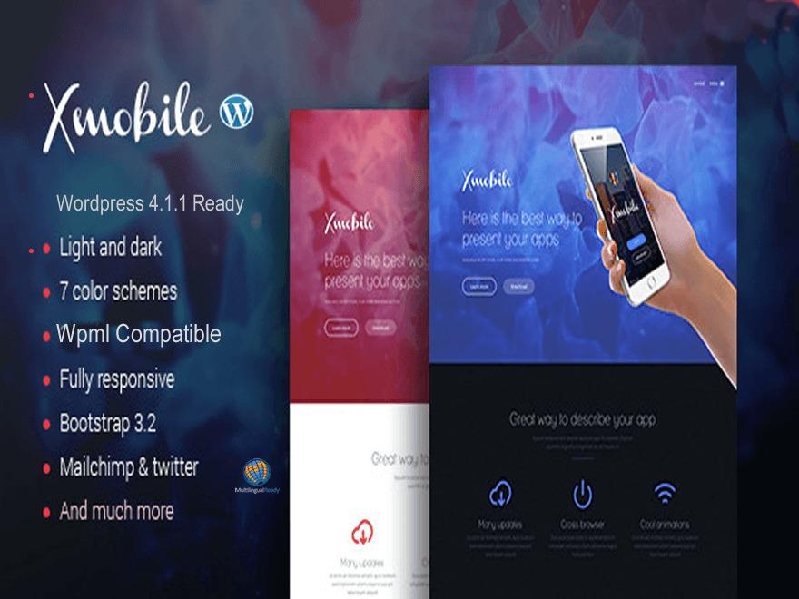 Xmobile WordPress theme