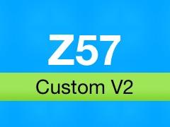 Z57 Custom V2 WordPress theme design