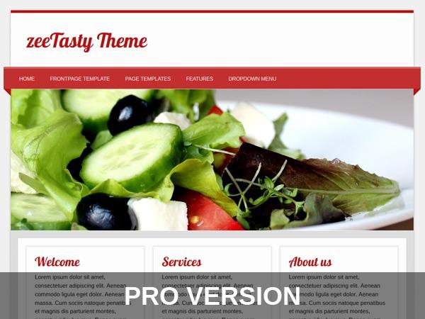 zeeTastyPro WordPress theme