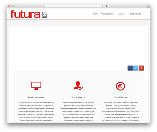 Astra free WP theme - futuraict.com