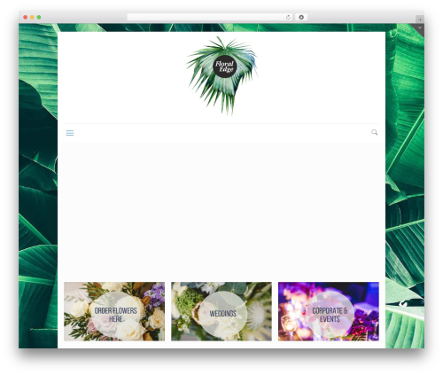 Betheme WordPress wedding theme - floraledge.com.au