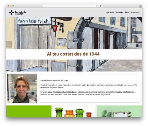 Customizr WordPress theme download - farmaciafolch.com
