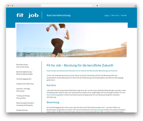 Free WordPress Simple Responsive Slider plugin - fit4job-online.de