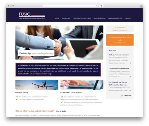 Free WordPress MetaSlider plugin - fusio.be