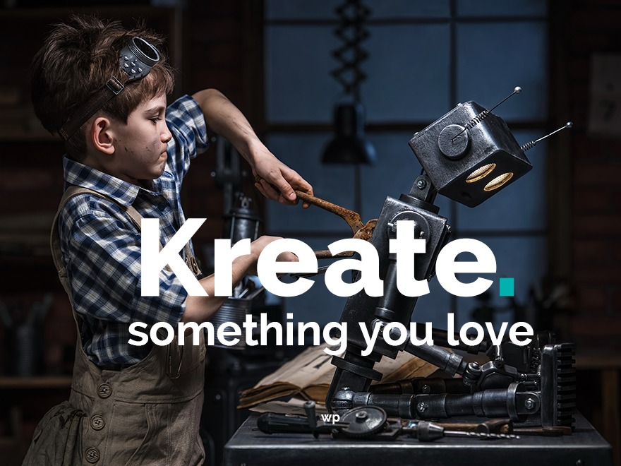 Kreate business WordPress theme