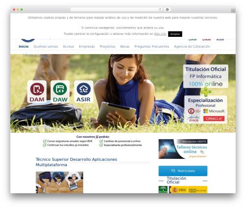 Posh template WordPress - fp-informatica.com