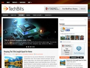 TechBits top WordPress theme