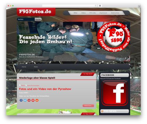 Template WordPress SuperCars - f95fotos.de