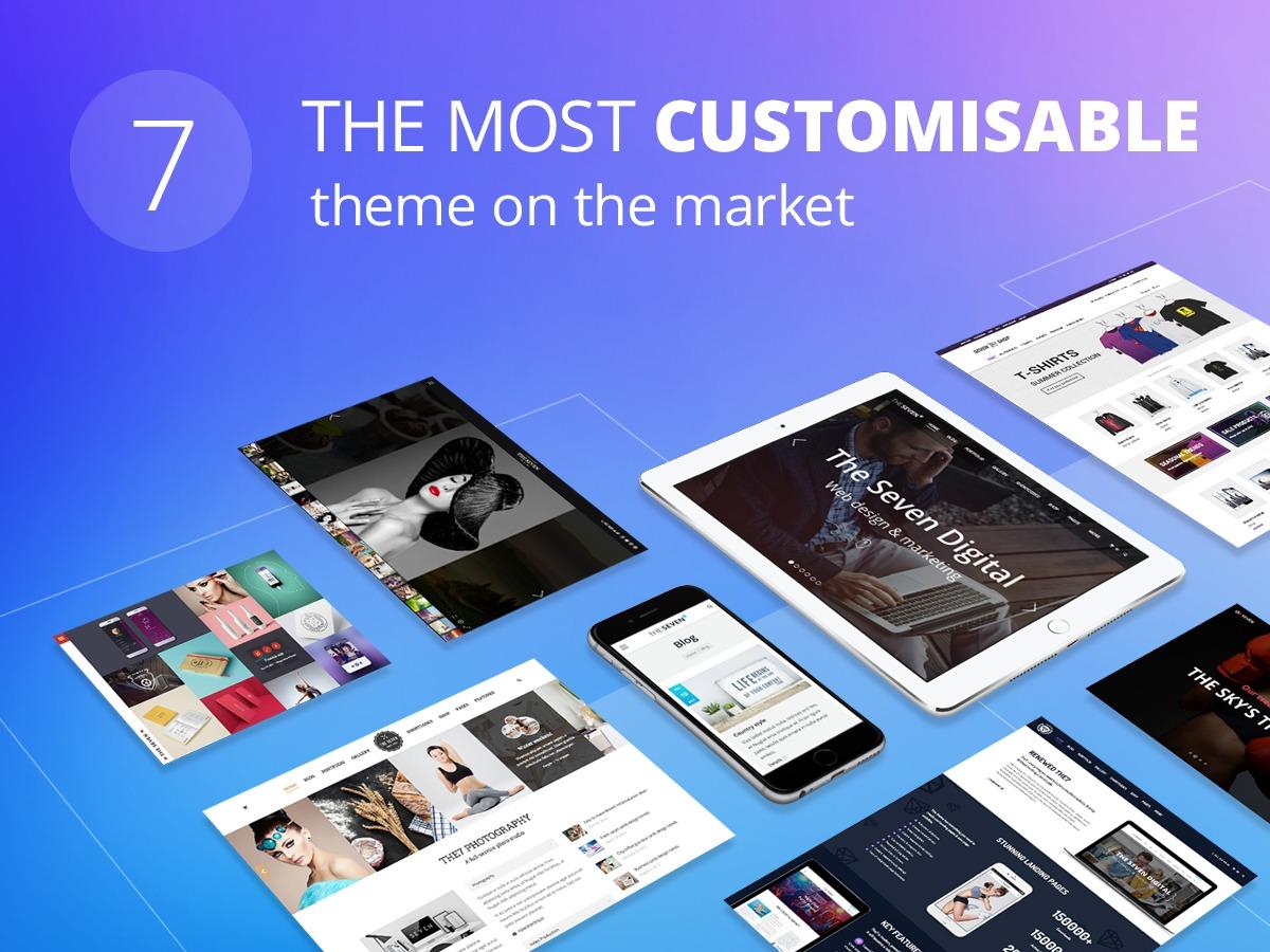 The7-Null24.Net WordPress shopping theme